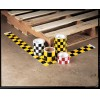 """Incom / Top Tape & Label - 24896R - Safety Warning Tape, Solid, Continuous Roll, 4"""" Width, 1 EA"""