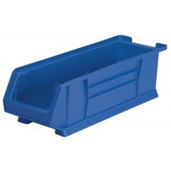 Akro-Mils / Myers Industries - 30284BLUE - Hopper Bin, Blue, 7H x 23-7/8L x 8-1/4W, 1EA