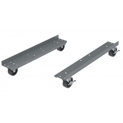 Akro-Mils / Myers Industries - 30653DOLLY - 31 x 14 x 6 Steel Mobile Kit; For Use With Model 30-653 Bin Box Hanging Rack System