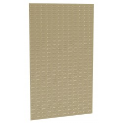 Akro-Mils / Myers Industries - 30161BEIGE - 36 x 5/16 x 61 Louvered Panel with 1000 lb. Load Capacity, Beige