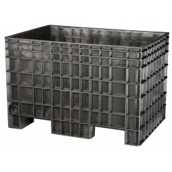 Buckhorn / Myers Industries - BF4229280010000 - Bulk Container, Black, 28H x 42L x 29W, 1EA