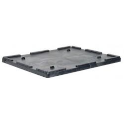 Buckhorn / Myers Industries - TL4844030010000 - Bulk Container Lid, Black, 2-7/8H x 49L x 44-7/8W, 1EA