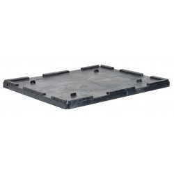 Buckhorn / Myers Industries - TL4229040010000 - Bulk Container Lid, Black, 3-1/4H x 42-1/2L x 29-3/4W, 1EA