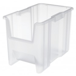 Akro-Mils / Myers Industries - 13014SCLAR - Storage Bin, Transparent, 12.5 x 10.88 x 17.5