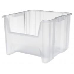 Akro-Mils / Myers Industries - 13018SCLAR - Storage Bin, Transparent, 12.5 x 16.5 x 17.5