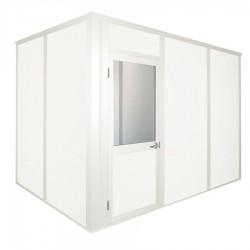 Porta-King - VK1STL-WCM 10'X12' 4-WALL - Modular In-Plant Office, 4Wall, 10x12