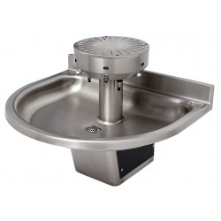 Acorn Aqua - 3424-ADA-1-SO-DV-VPB-MXTP - 44H 4-Person Wash Fountain, Infrared Sensor Operation Type