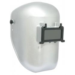 Fibre-Metal - 5906SR - Passive Welding Helmet, Silver, 5906, 10 Lens Shade