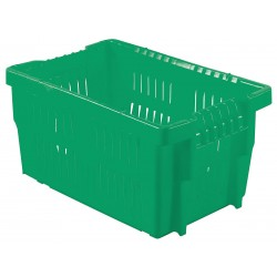 Orbis - AF2416-13 GREEN - Stack and Nest Container, Green, 13-1/4H x 23-5/8L x 15-3/4W, 1EA