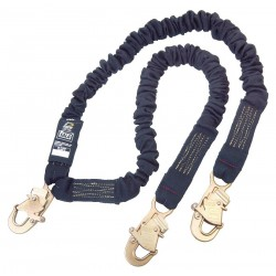 DBI / Sala - 1244630 - Lanyard, 2 Leg, Nomex, Kevlar(R), Black