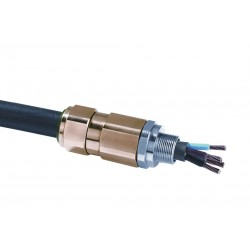 Appleton Electric - 2016T30505 - Nickel Plated Brass Hazardous Location Cable Connector, Conduit Size: 1/2, Cord Dia. Range: 0.12 t