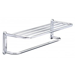 Taymor - 01-S880018B - 19-1/2L x 6-1/2H x 8-1/2D Polished Chrome Towel Shelf