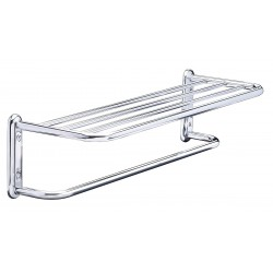 Taymor - 01-S880024B - 25-1/2L x 6-1/2H x 8-1/2D Polished Chrome Towel Shelf