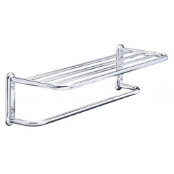Taymor - 01-S880024BSS - 25-1/2L x 6-1/2H x 8-1/2D Polished Chrome Towel Shelf