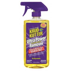 Krud Kutter - UP166 - 16 oz. Ultra Power Specialty Adhesive Remover, Orange