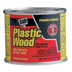 Dap - 21400 - Solvent Wood Filler, 4 oz. Size, Light Wood Color, Container Type: Can