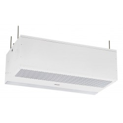 Mars Air Systems - PH1072-2UA-PW - Recessed Air Curtain, 6 ft. Max. Door Width, 10 ft. Max. Mount Ht., 68 dBA @ 10 Feet, 3475 fpm