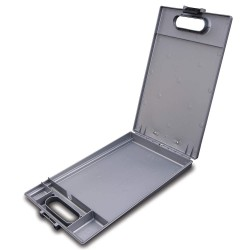 JL Darling - 295 - Portable Storage Clipboard, Letter, Silver