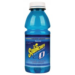 Sqwincher - 030804-MB - Sports Drink, Ready to Drink, Sugar Free, 24 Package Quantity