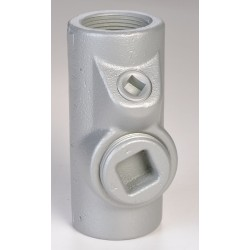 Appleton Electric - EYSEF150 - Sealing Fitting, 40% Fill, Iron, Male to Female Connection, 1-1/2 Conduit Size