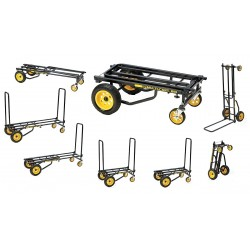 Other - CART-RT10 - Convertible Hand Truck, Steel, 500 lb., Overall Height 40-1/2