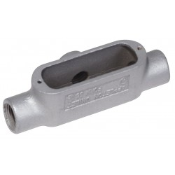 Appleton Electric - T350-M - T-Style 3-1/2 Conduit Outlet Body, Threaded Iron, 314.0 cu. in.