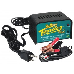 Battery Tender - 021-0128 - Battery Charger, 12VDC, 1.25A