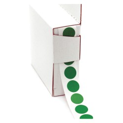 Roll Products - 119-0002D - 1/2 Color Code Circles GR 100roll