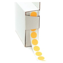 Roll Products - 119-0002V - 1/2 Color Code Circles Flo OR 1000roll
