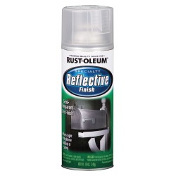 Rust-Oleum - 214944 - Rust-Oleum 214944 Reflective Finished Spray Paint - 10 oz - 6 / Set