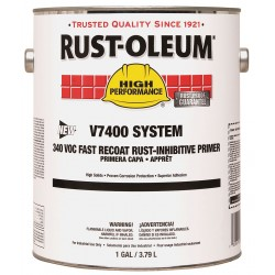 Rust-Oleum - V7086402 - Interior/Exterior Primer with 300 to 550 sq. ft./gal. Coverage Gray, 1 gal.