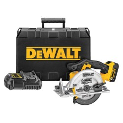 Dewalt - DCS391P1 - DeWALT DCS391P1 20V MAX XR Lithium-Ion Cordless 6-1/2'' Circular Saw Kit (5.0AH) w/ Battery, Charger & Blade