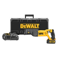 Dewalt - DCS380P1 - Cordless Reciprocating Saw Kit, 20.0 Voltage, Pivoting Adjustable Shoe Design, Battery Included