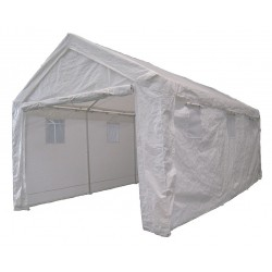 Other - 11C542 - White Heavy Duty Shelter, 20 ft. Length, 10 ft. 8 Width, 10 ft. Center Height