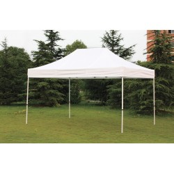 Other - 11C555 - White Instant Canopy, 14 ft. 4 Length, 9 ft. 8 Width, Adjusts to 10 ft. 10 Center Height