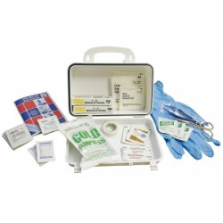 Medique - 89607 - First Aid Kit, Kit, Plastic Case Material, General Purpose, 15 People Served Per Kit