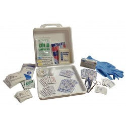 Medique - 55427 - First Aid Kit, Kit, Plastic Case Material, General Purpose, 25 People Served Per Kit