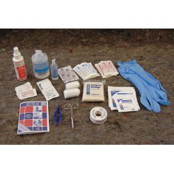 Medique - 17270-1 - First Aid Kit, Refill, Cardboard Case Material, General Purpose, 25 People Served Per Kit