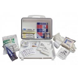 Medique - 56601 - First Aid Kit, Kit, Plastic Case Material, General Purpose, 10 People Served Per Kit