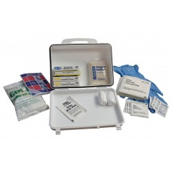 Medique - 83682 - First Aid Kit, Kit, Plastic Case Material, General Purpose, 10 People Served Per Kit