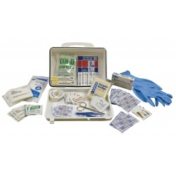Medique - 55426 - First Aid Kit, Kit, Plastic Case Material, General Purpose, 10 People Served Per Kit