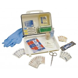 Medique - 122859 - First Aid Kit, Kit, Plastic Case Material, Vehicle, 10 People Served Per Kit