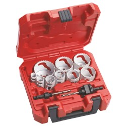 Milwaukee Electric Tool - 49-22-4025 - 13-Piece Hole Saw Kit for Metal, Range of Saw Sizes: 3/4 to 2-1/2