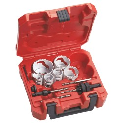 Milwaukee Electric Tool - 49-22-4145 - Hole Dozer Hole Saw Kit, 1-5/8 In, 10 Pc