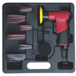 Chicago Pneumatic - CP7200S - Chicago Pneumatic CP7200S 3-Inch Adjustable Speed Mini Random Orbital Sander Kit