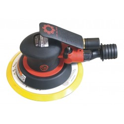 Chicago Pneumatic - CP7255CV - Air Random Orbital Sander with 6 Pad Size, Vacuum, 3/16 Orbit Dia.