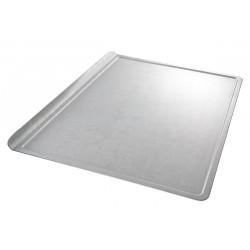 Chicago Metallic - 20100 - 10 W x 14 L Glazed Aluminized Steel Cookie Sheet