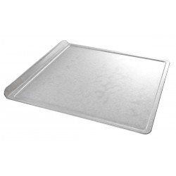 Chicago Metallic - 20300 - 14 W x 14-1/16 L Glazed Aluminized Steel Cookie Sheet, Medium