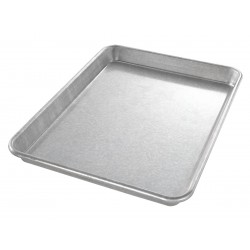 Chicago Metallic - 20900 - 9 W x 12-1/2 L Glazed Aluminized Steel Jelly Roll Pan