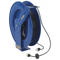 Coxreels / Coxwells - EZ-PC24-0012-A - 120VAC Heavy Industrial Retractable Cord Reel; Number of Outlets: 1, Cord Included: Yes